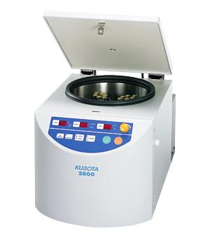 Model 2800 Compact Tabletop Refrigerated Centrifuge Kubota